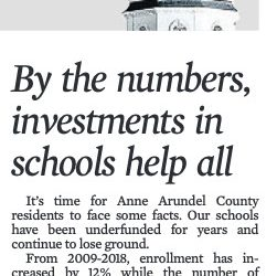 School Investment Editorial, Janet Holbrook